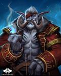 ...Commission: Zandalari Troll Captain...