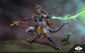 ...Commission: Zandalari Troll Primal Druid...