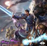 ...Commission: Battle Scene...