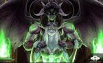 ...Commission: Night Elf Illidari...