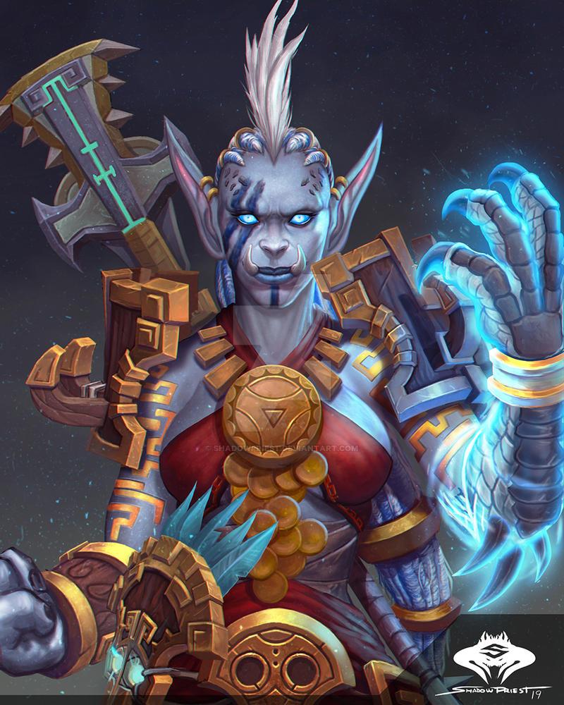 ...Commission: Zandalari Troll Druid... by ShadowPriest on ...