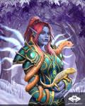 ...Commission: Troll Priest...
