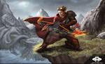 ...Commission: Blood Elf Hunter II...