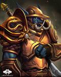 ...Commission: Zandalari Troll Warpriest...