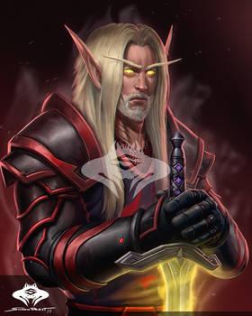 ...Commission: Blood Elf Paladin...