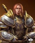 ...Commission: Human Warrior...