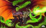 ...Commission: Troll Warlock...