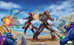 ...Commission: Murloc Battle...