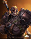 ...Commission: Mag'har Orc Warrior...