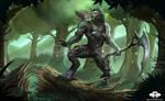 ...Commission: Worgen Druid...