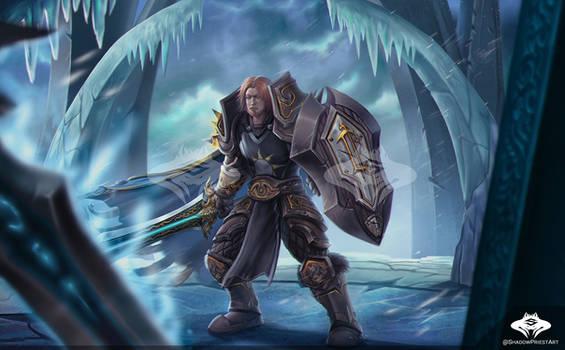 ...Commission: Human Warrior..