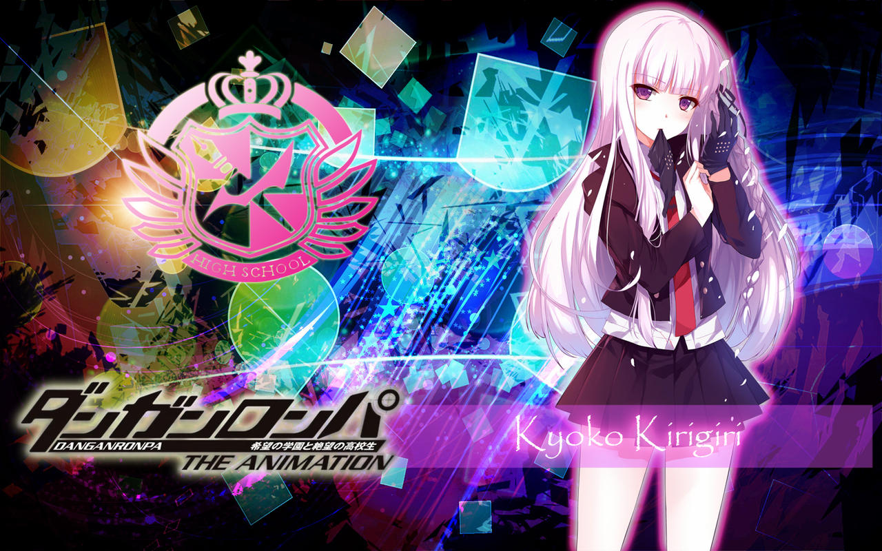 kyoko kirigiri wallpaper by bakacharuzu123 on deviantart