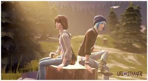 Life is Strange- Max and Chloe by M-ang