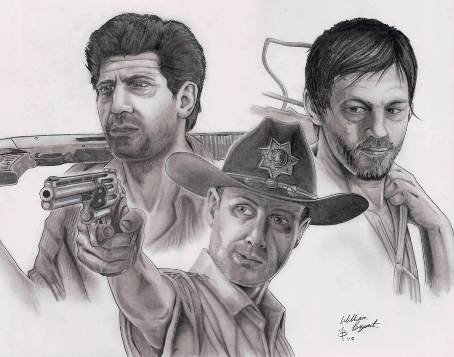 Walking Dead by greyfoxdie85