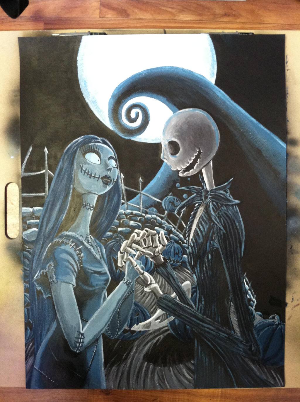 Jack and Sally by greyfoxdie85 on deviantART