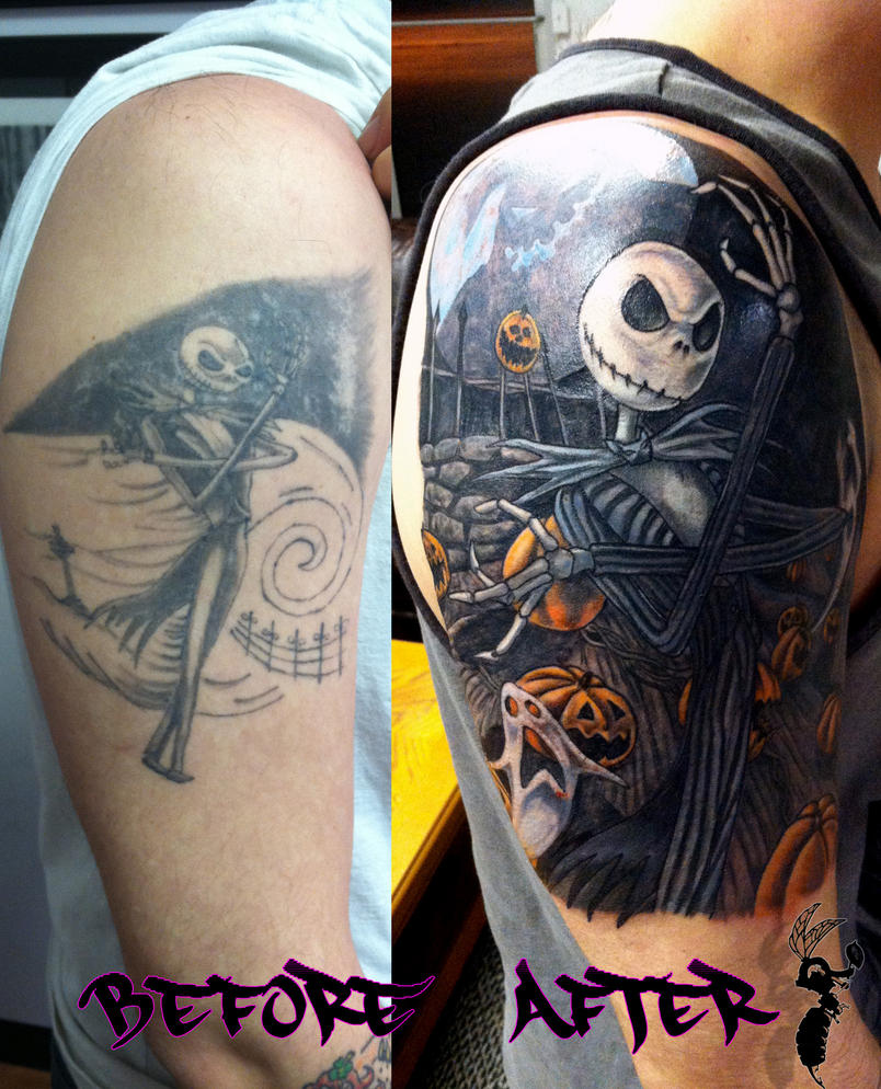 Nightmarer Before Christmas Cover-up Complete by greyfoxdie85 on ...