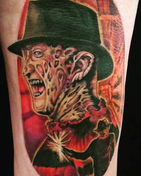 f233481cfb124 greyfoxdie85 4 0 Freddy Krueger Tattoo by greyfoxdie85