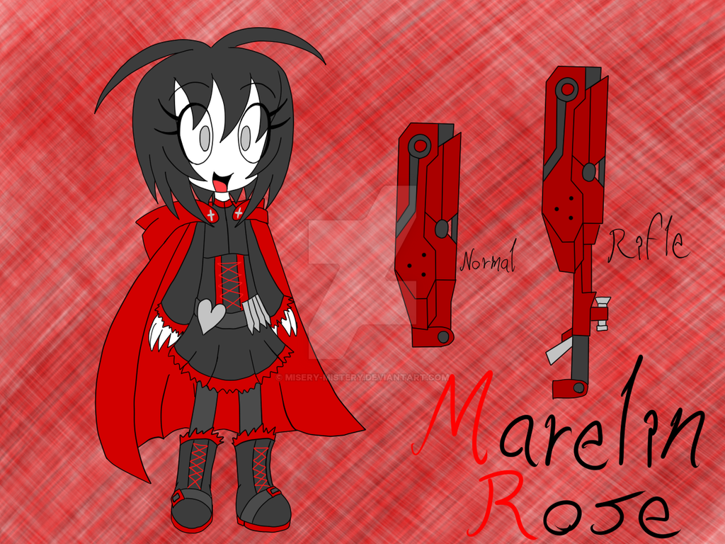 + Marelin Rose + by Misery-Mistery