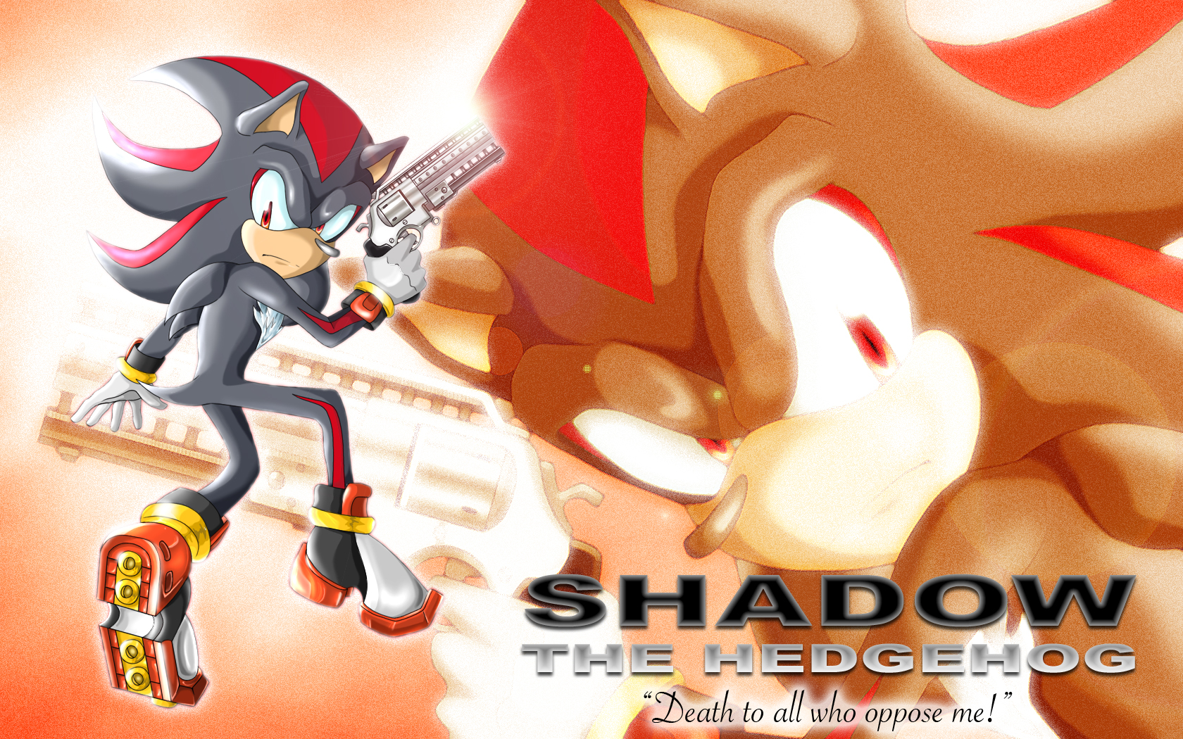 Shadow The Hedgehog Wallpaper by DeannART on DeviantArt