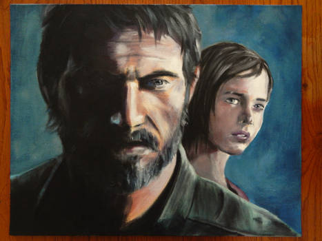Oil Painting - The Last of Us