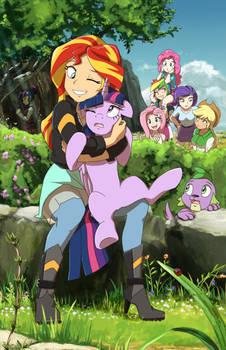 Sunset loves Pony Twilight