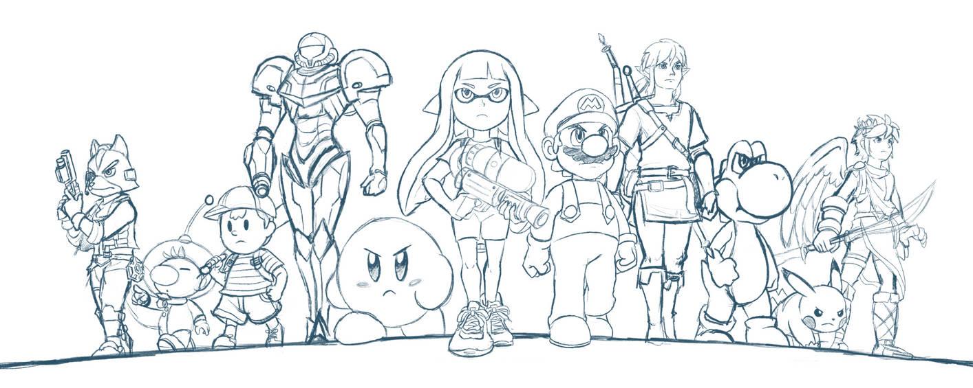 (WIP) Smash Bros. Switch