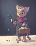 Flower Cat Girl