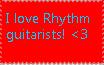 I love Rhythm guitarists! by Anastasia6710