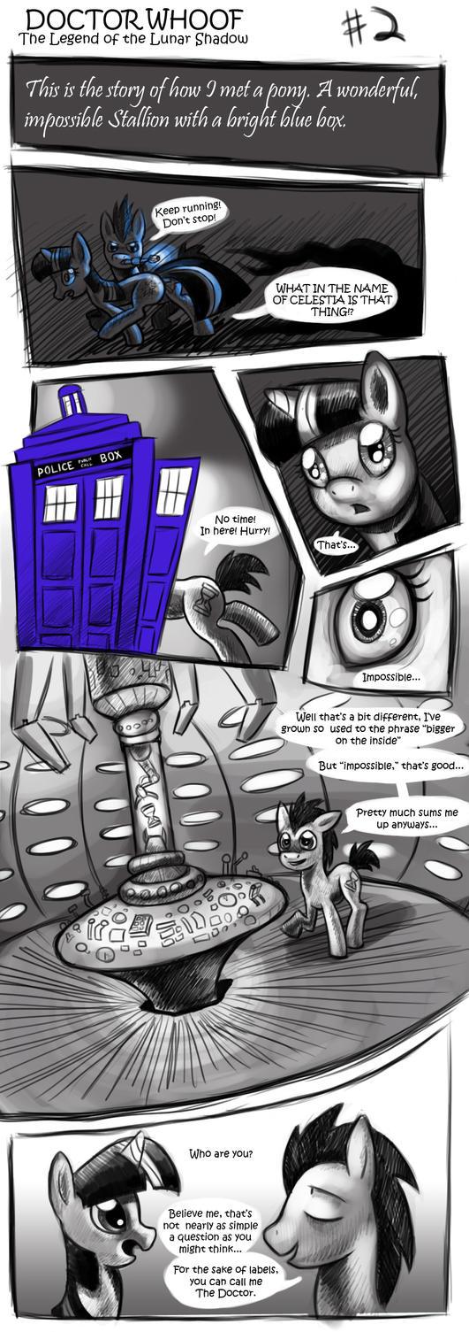 DOCTOR WHOOF  Lunar Shadow 2 by CyberToaster