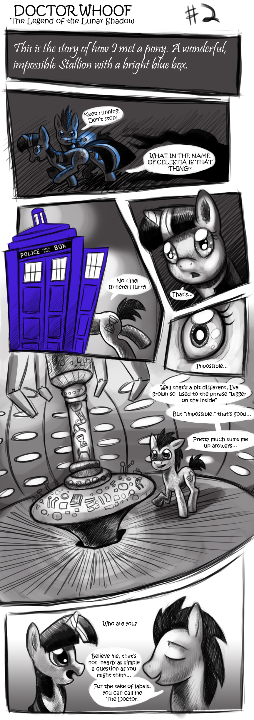 DOCTOR WHOOF  Lunar Shadow 2 by CyberToaster