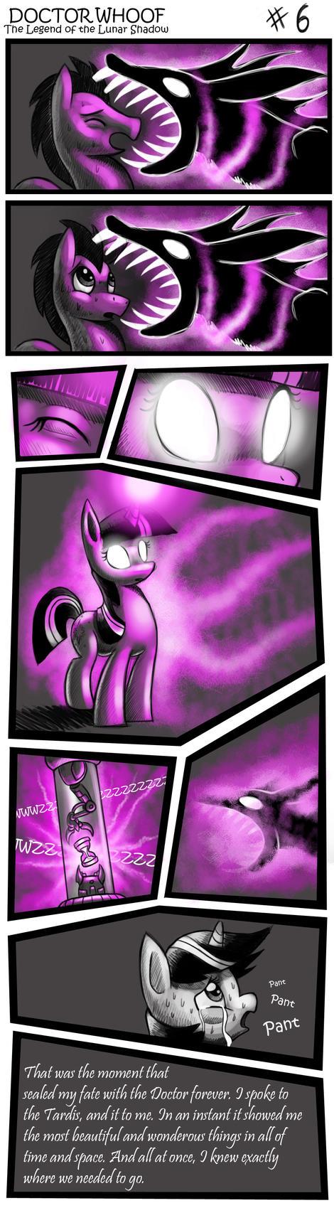DOCTOR WHOOF  Lunar Shadow 6 by CyberToaster