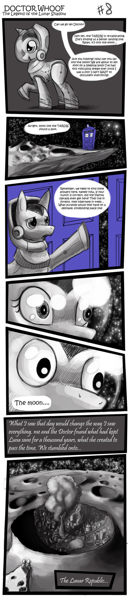 DOCTOR WHOOF  Lunar Shadow 8 by CyberToaster