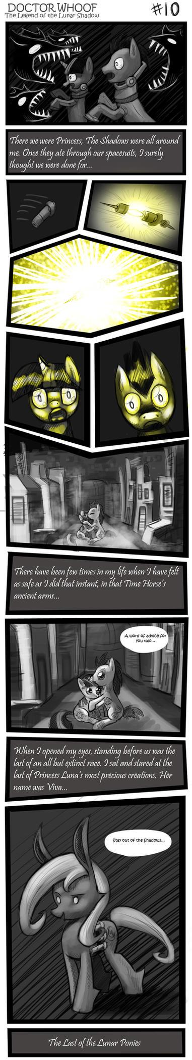 DOCTOR WHOOF Lunar Shadow 10 by CyberToaster