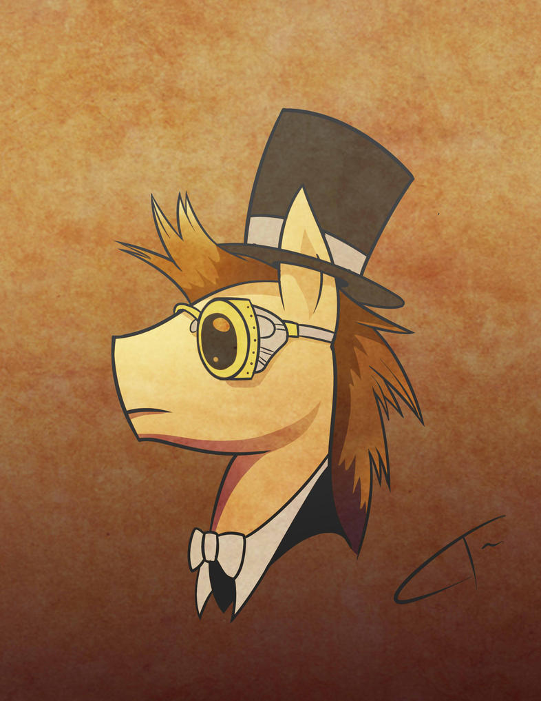 Steampunk Doctor Whoof by CyberToaster