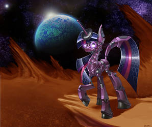 Cyber Twilight Planetary Exploration by CyberToaster