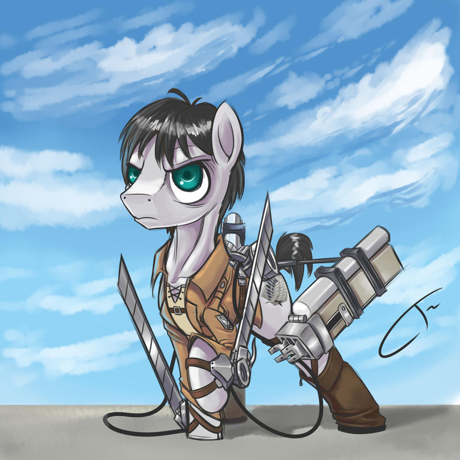 My Little Titan: Eren by CyberToaster