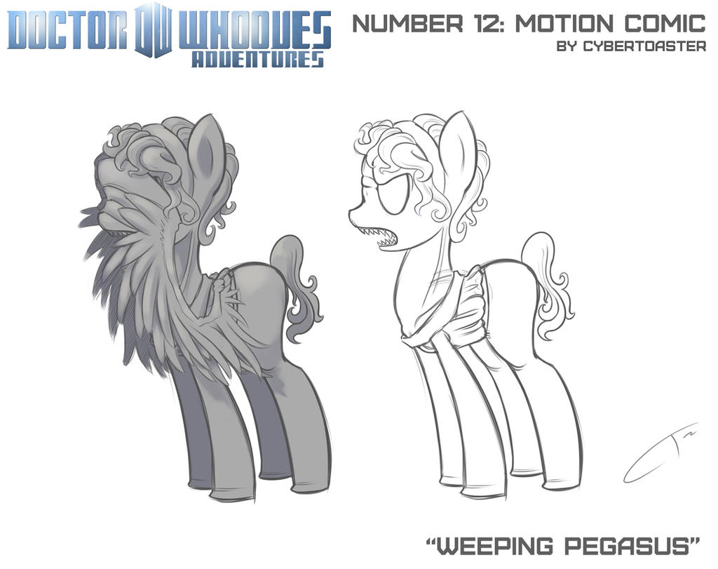 Weeping Pegasus Concept by CyberToaster