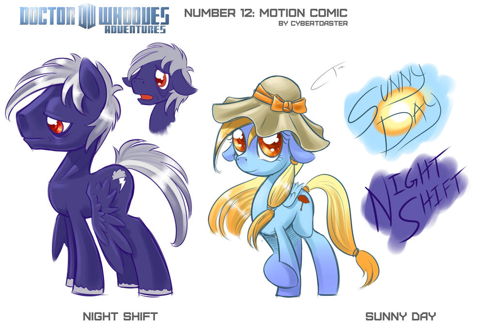 Number 12 Concept: Night Shift and Sunny Day by CyberToaster