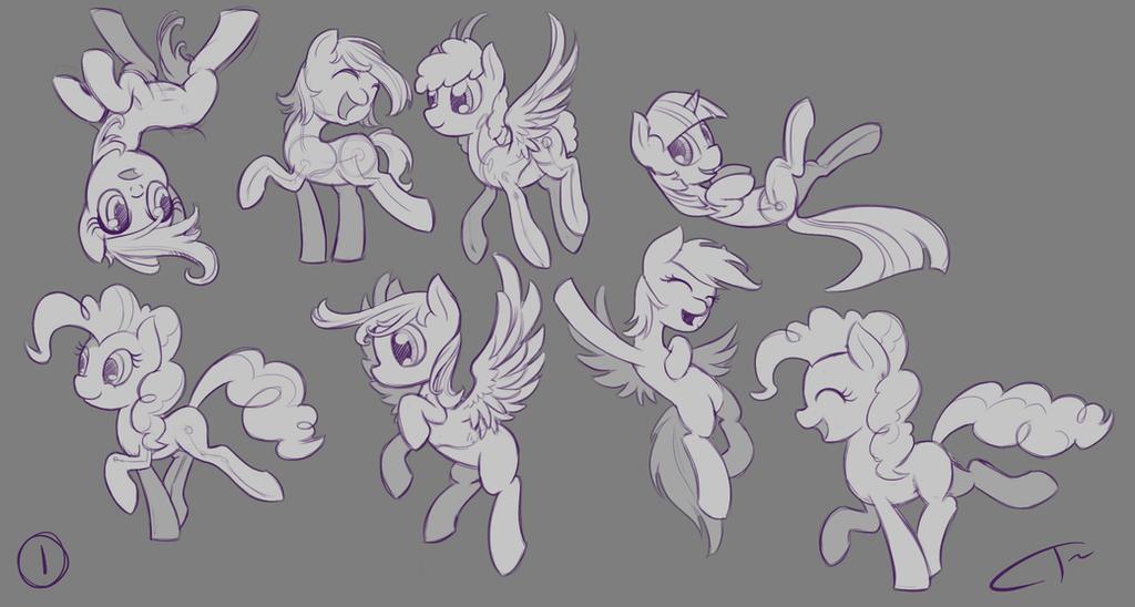 Pony Studies 1 by CyberToaster
