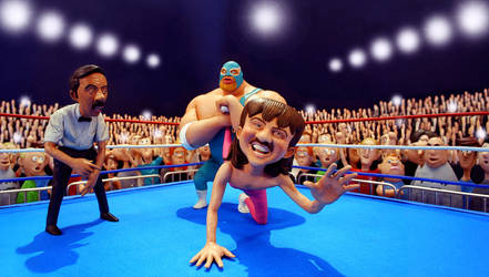 Wrestle by chriswalsh