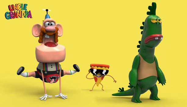 Uncle Grandpa Cartoon Network
