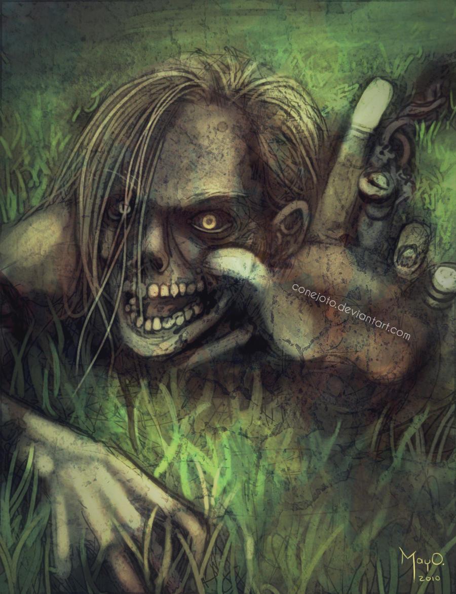 Zombie by MayOrnelas