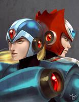 Megaman by MayOrnelas