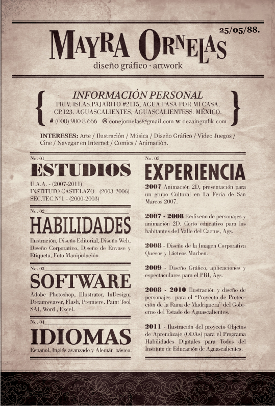 Resume by MayOrnelas