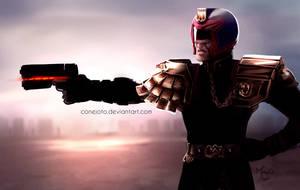 Judge Dredd by MayOrnelas