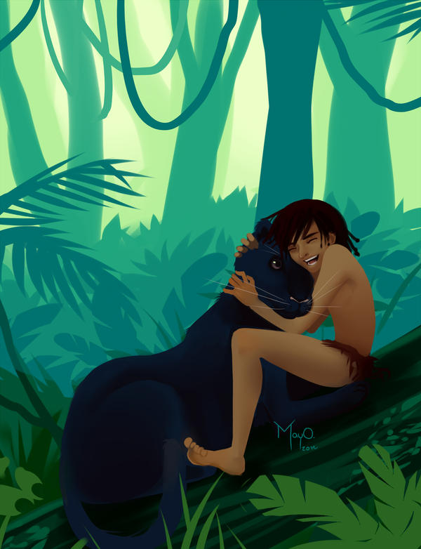 Mowgli by MayOrnelas