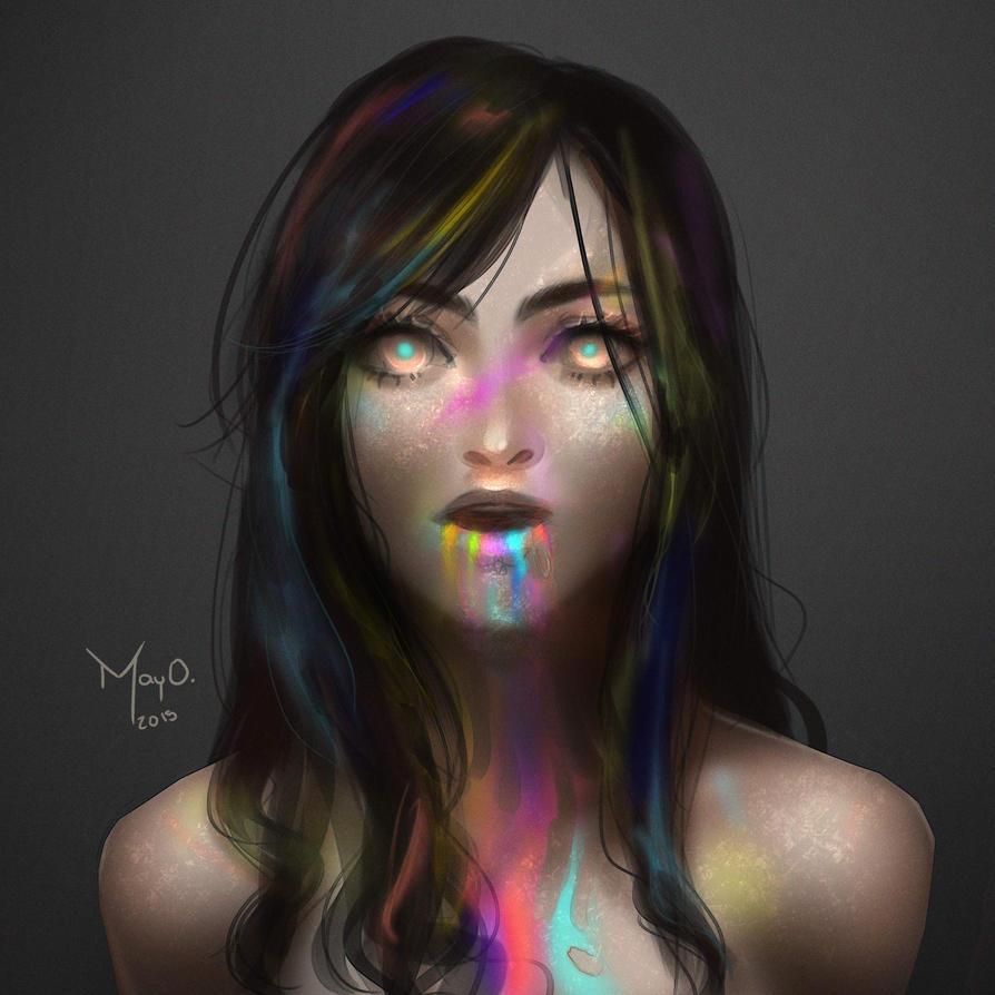 Rainbow - Speedpainting by CONEJOTO