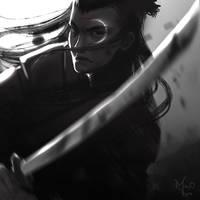 moon man | speed painting by MayOrnelas