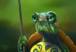 Tortoise by MayOrnelas