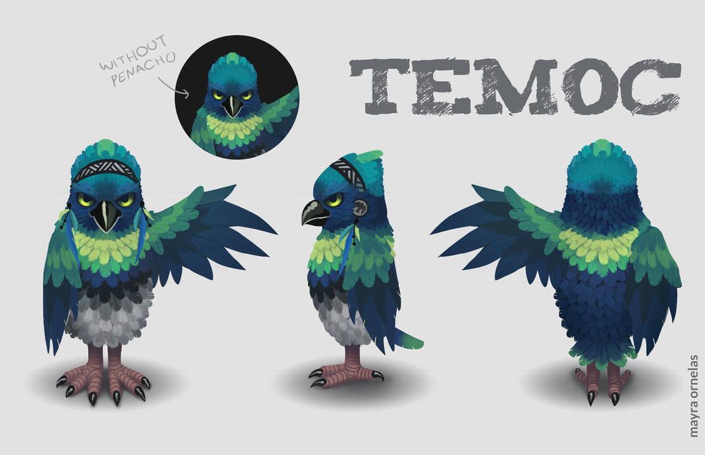 Temoc by MayOrnelas